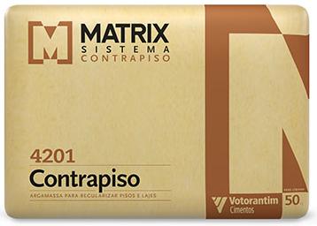 Argamassa Contrapiso Matrix
